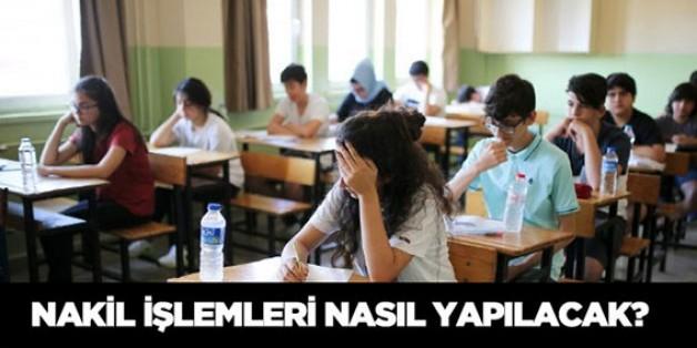 Öğrencilere 'nakil işlemleri' hizmeti