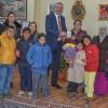 Özel öğrencilerden Özkan'a ziyaret