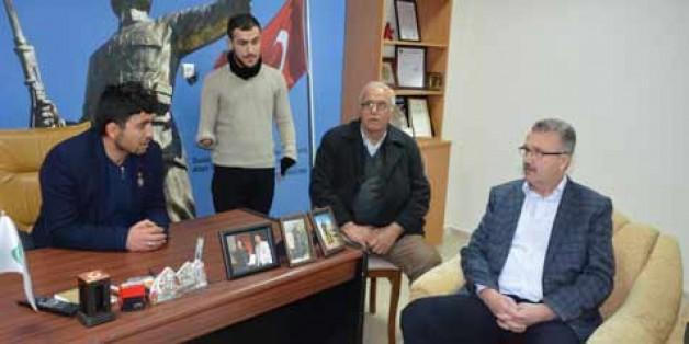 Özkan'dan anlamlı ziyaret
