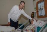 Özkan, Devlet Hastanesi'ni ziyaret etti