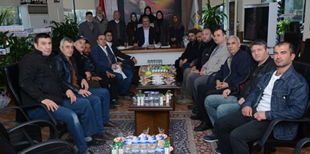 İHH'dan Özkan'a kutlama ziyareti