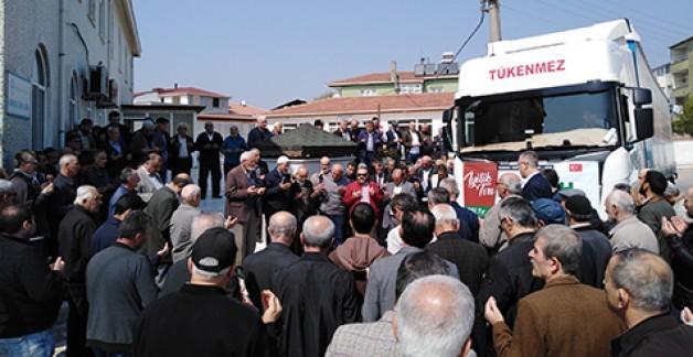 İHH'dan Suriye'ye 40. Yardım Tırı
