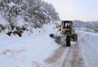 Şahmelek'te kar 3 metreyi buldu