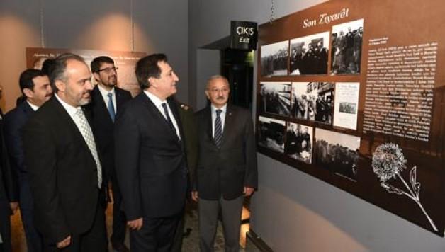 """""""Atatürk Bursa'da"""" sergisi açıldı"""