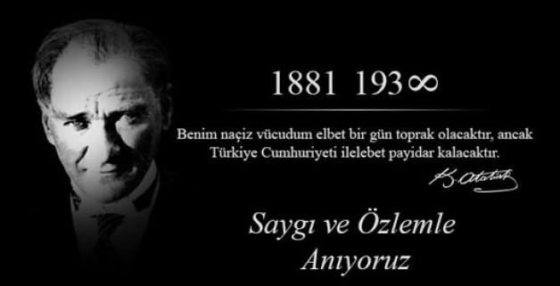 HEPİMİZ ATATÜRK'ÜZ