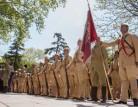 Bursa Seyyar Jandarma Taburu'nun temsili Çanakkale uğurlama töreni