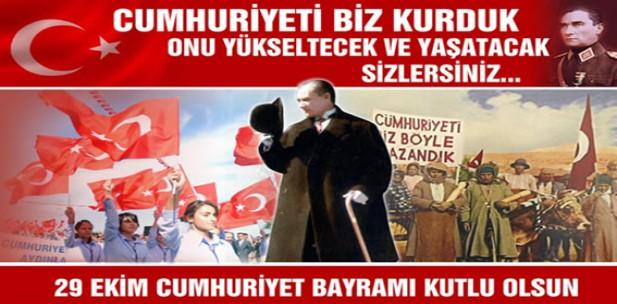 Cumhuriyet'imizin 97. yılı kutlu olsun!