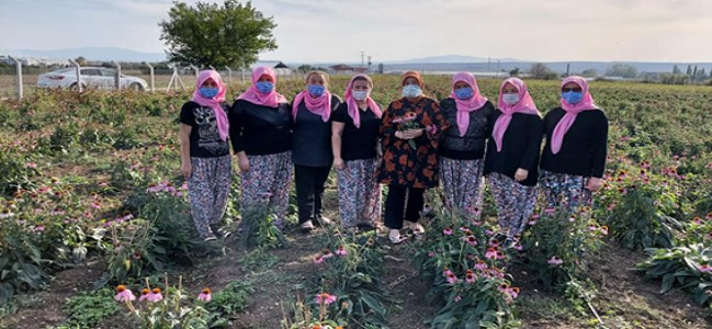 """""""Kadın çiftçilerimizle gurur duyuyoruz"""""""