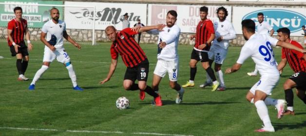 Karaca Vanspor'a mağlup oldu: 0-1