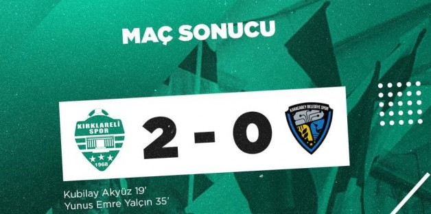 19 maç sonra mağlup olduk: 2-0