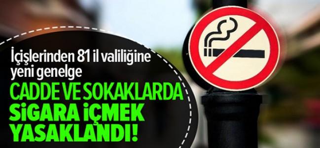 81 ilin tamamında sigara içmek yasak!