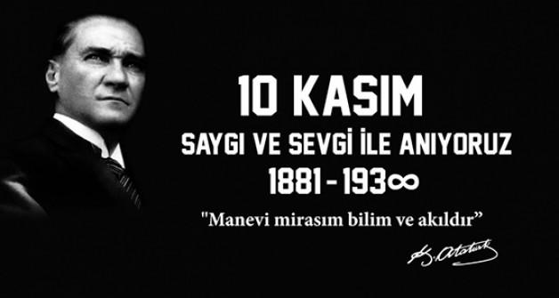 Atatürk için sadece 15 dakikalık tören!
