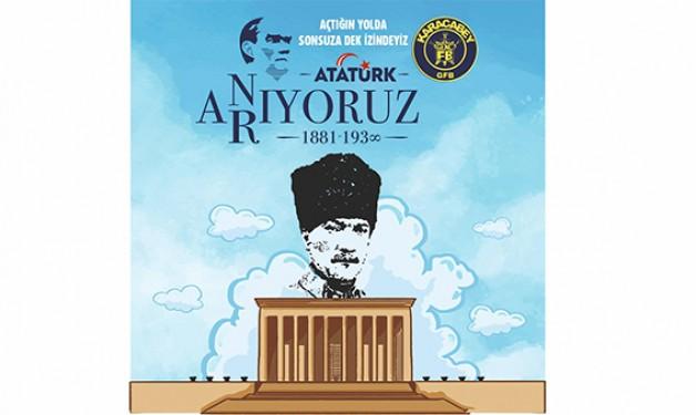 Genç Fenerbahçeliler Atatürk'ün izinde!