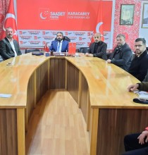 İYİ Parti'den Saadet'e 'hayırlı olsun' ziyareti!