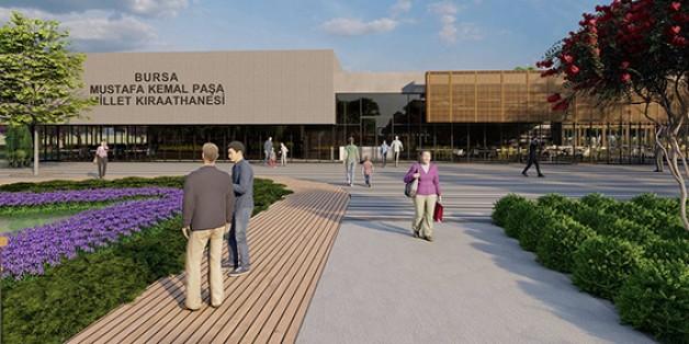 Bursa'nın en büyük Millet Bahçesi açılıyor!