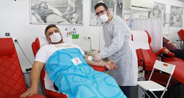Geçen hafta sonu 11 bin ünite kan bağışlandı!