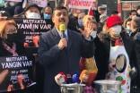 """İYİ Parti'den eylem: """"Mutfak yanıyor!"""""""