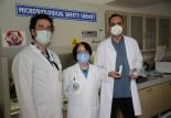Bursa'da virüse karşı sprey geliştirildi!