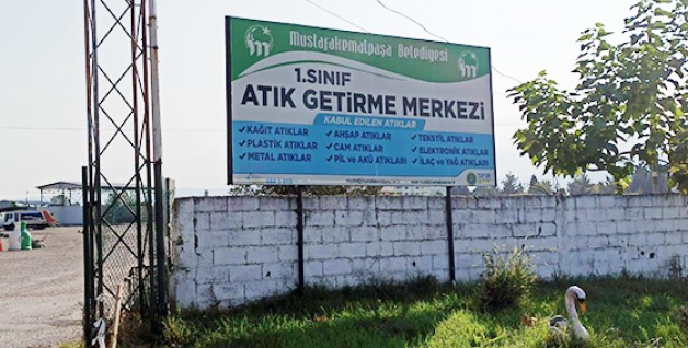 Mustafakemalpaşa Belediyesi çalışıyor!