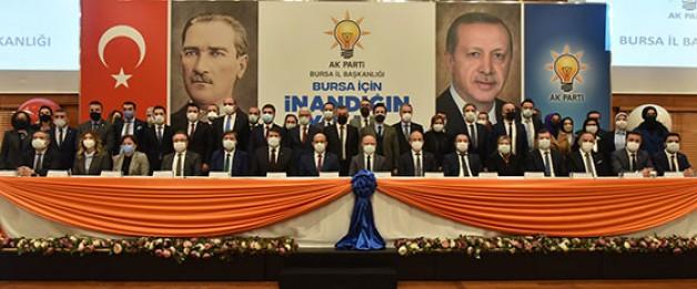 Başkan Gürkan il yönetimini tanıttı!