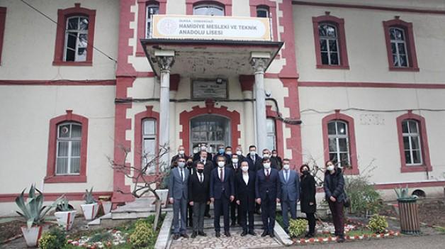 Tarihi okul Hamidiye MTAL'da AR-GE dönemi