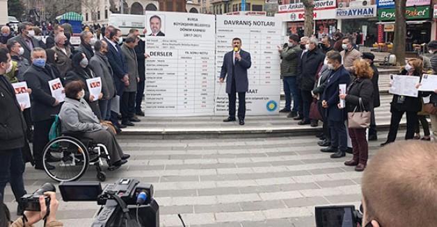 İYİ Parti Alinur Aktaş'a kötü karne verdi!