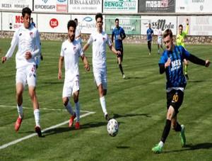 Karaca gol oldu yağdı: 6-2