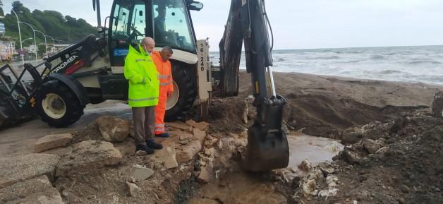BUSKİ'den sel bölgesine anında müdahale