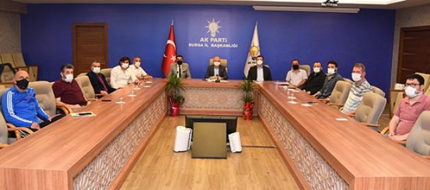 Davut Gürkan sektör temsilcileriyle buluştu