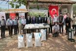Fasulye tohumları Karacabeyli üreticilerle buluştu