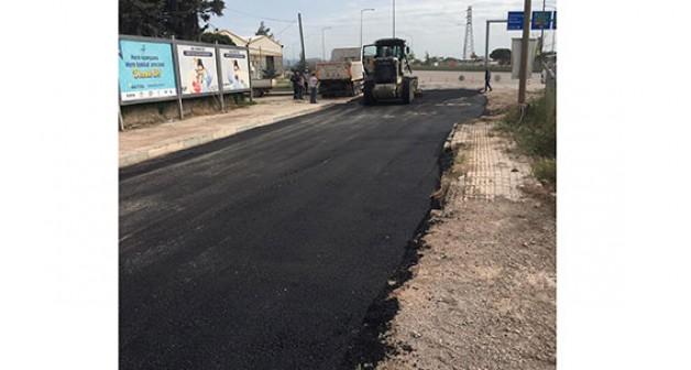 O yolu nihayet asfaltladılar!