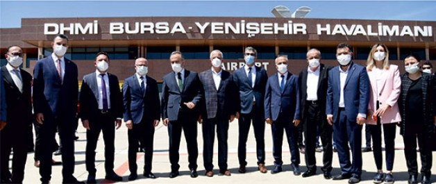 Yenişehir'den uçuşlar yeniden başladı!