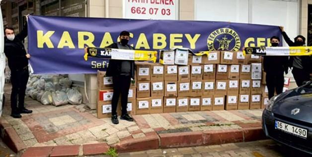 Genç Fenerbahçeliler'den Ramazan yardımları