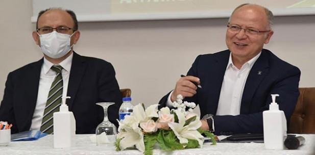 """""""Bursa'mızın geleceği için çalışıyoruz"""""""
