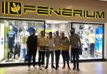 Genç Fenerbahçeliler'den Tamer Çalı'ya ziyaret