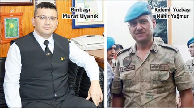 İlçe Jandarma Komutanlığı'nda değişim