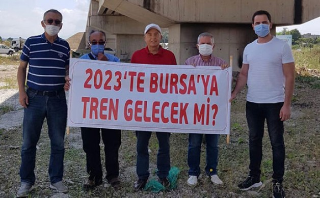 """2023'te Bursa'ya tren gelecek mi?"""