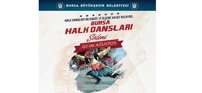 HALK DANSLARI ŞÖLENİ BAŞLIYOR