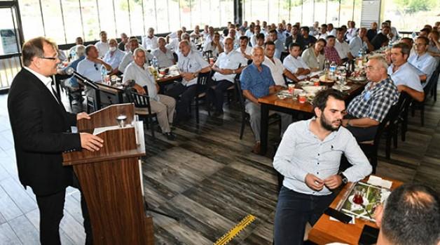 """""""MUSTAFAKEMALPAŞA'YA YATIRIMLARIMIZ SÜRECEK"""""""