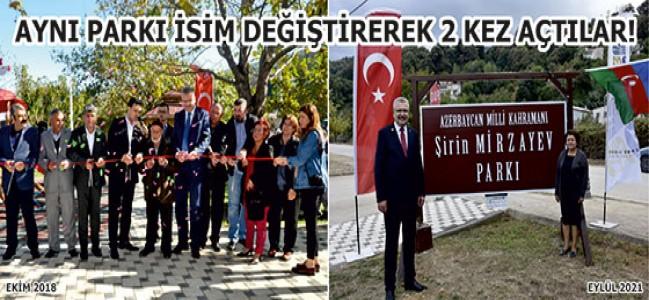 ÜRETMEYEN BELEDİYE'DEN ÇİFTE AÇILIŞ!