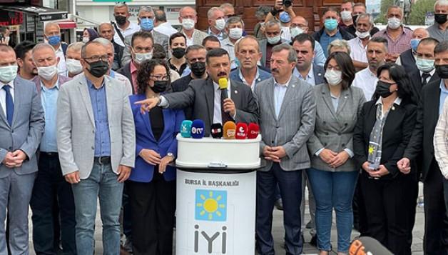 BURSA'YA HIZLI TREN YERİNE OYUNCAK TREN GELDİ!