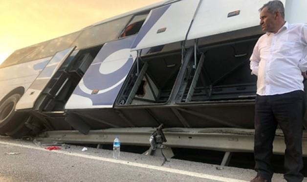 40 yolcu ölümden döndü