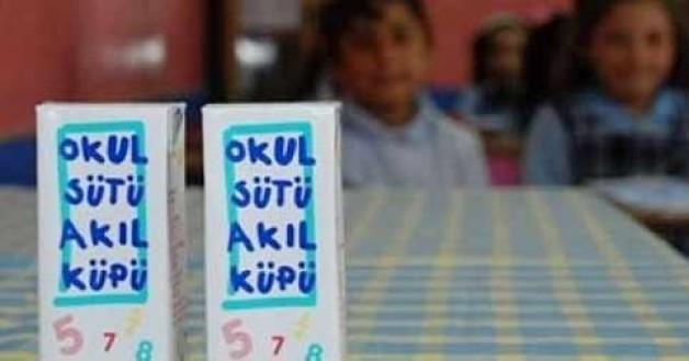 6 milyon öğrenciye süt