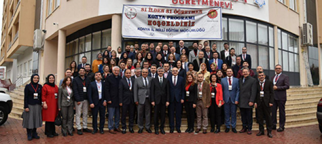 81 ilden 81 öğretmen Konya'da
