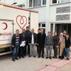 AK Gençler'den kan bağışı