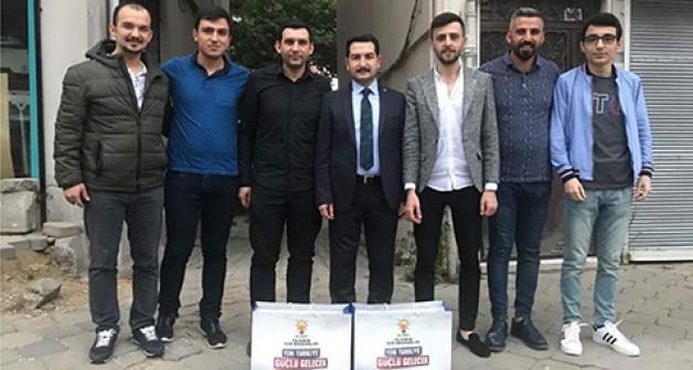 AK Gençlik'ten 'İftara 5 Kala' etkinliği