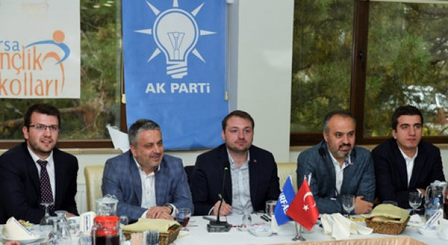 AK Gençler'in konuğu Alinur Aktaş