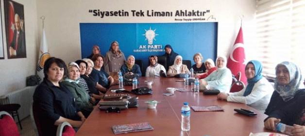 AK Kadınlar'da görev değişikliği