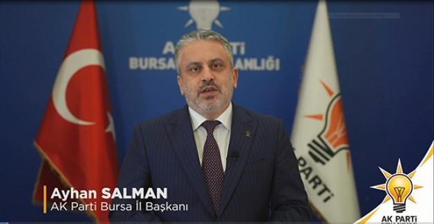 AK Parti'nin Bursa hedefi 500 bin üye