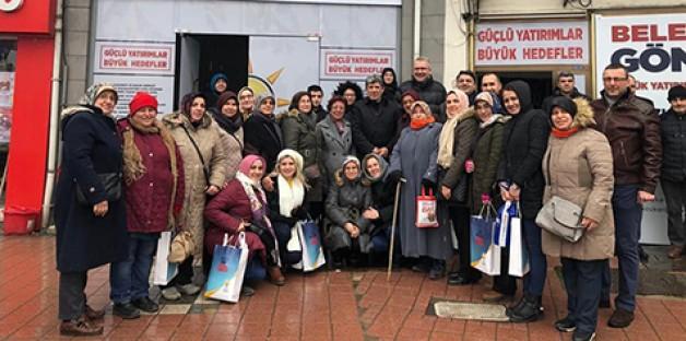 AK Parti'nin sahadaki gücü AK Kadınlar